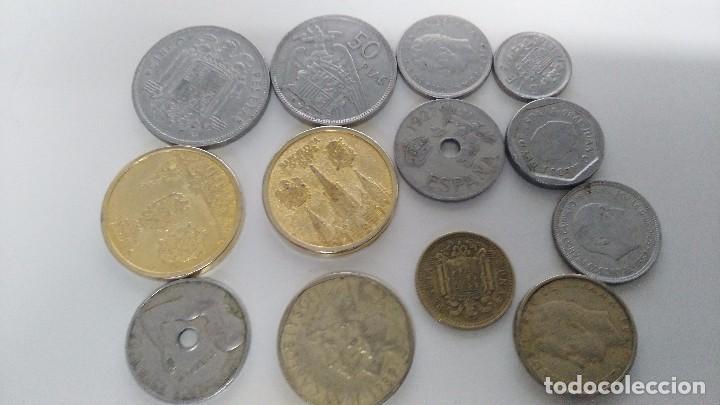 Reproducciones billetes y monedas: lote de monedas antiguas españolas - Foto 5 - 87511932