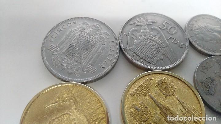 Reproducciones billetes y monedas: lote de monedas antiguas españolas - Foto 6 - 87511932