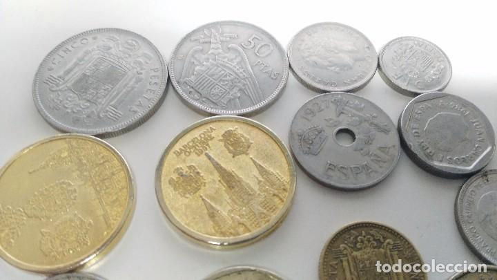 Reproducciones billetes y monedas: lote de monedas antiguas españolas - Foto 7 - 87511932