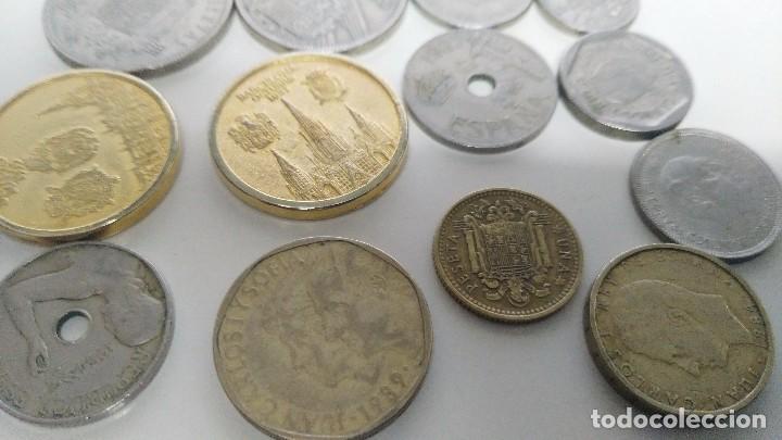Reproducciones billetes y monedas: lote de monedas antiguas españolas - Foto 8 - 87511932