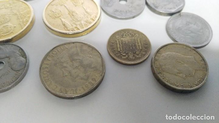 Reproducciones billetes y monedas: lote de monedas antiguas españolas - Foto 9 - 87511932