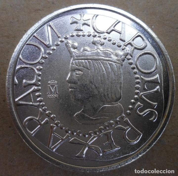 MONEDA DE 1/2 REAL SIN FECHA DE MALLORCA REINADO CARLOS I MIRA LAS FOTOS (Numismática - Reproducciones)