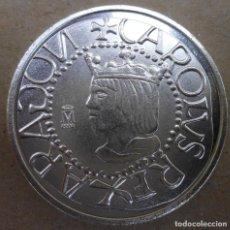 Reproducciones billetes y monedas: MONEDA DE 1/2 REAL SIN FECHA DE MALLORCA REINADO CARLOS I MIRA LAS FOTOS. Lote 89483800