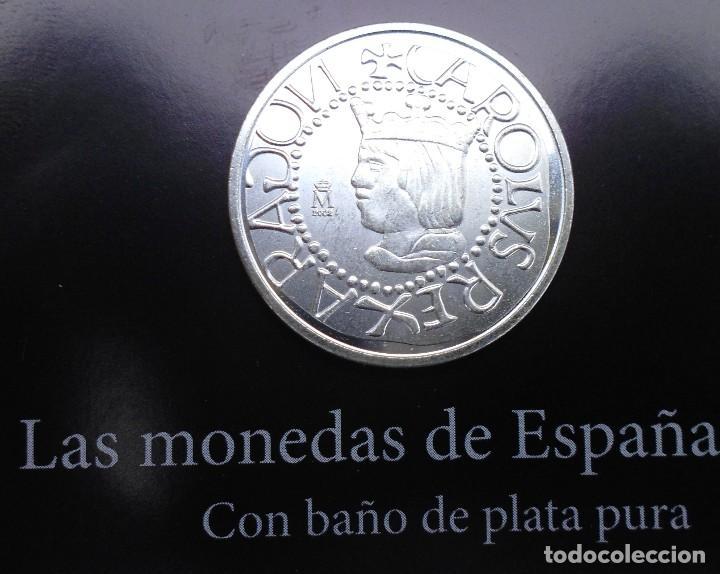 Reproducciones billetes y monedas: MONEDA DE 1/2 REAL SIN FECHA DE MALLORCA REINADO CARLOS I MIRA LAS FOTOS - Foto 3 - 89483800