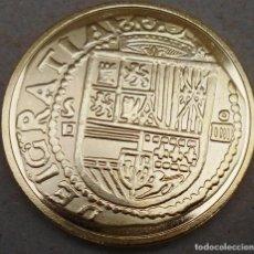 Reproducciones billetes y monedas: MONEDA DE 4 ESCUDOS SIN FECHA DE SEVILLA REINADO FELIPE II MIRA LAS FOTOS. Lote 89484296