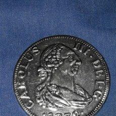 Reproducciones billetes y monedas: MONEDA HISPANIARUM-REX 1772 CAROLUS III 4CM (REPLICA). Lote 91755457