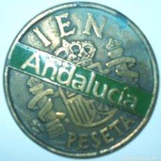 Reproducciones billetes y monedas: MONEDA 100 PESETAS RELIEVES,MIDE 8,5 CT.DIÁMETRO,CASI MEDIO DE ANCHO PESA 200 G. Lote 92787755