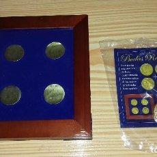 Reproducciones billetes y monedas: FELIPE Y LETICIA - BODAS REALES - MONEDA CONMEMORATIVA Y EXPOSITOR.. Lote 97409863