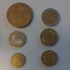 Reproducciones billetes y monedas: MONEDAS PROTOTIPO PATRÓN EURO ESLOVENIA 2004 . Lote 97939875