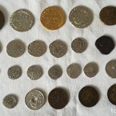 Reproducciones billetes y monedas: 1-LOTE DE REPLICAS DE MONEDAS ANTIGUAS-24. Lote 99512723
