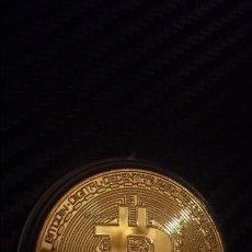 Reproducciones billetes y monedas: MONEDA BITCOIN . Lote 103250695