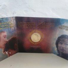 Reproducciones billetes y monedas: ESTUCHE MONEDA EL SEÑOR DE LOS ANILLOS NEW ZEALAND 2003 THE LORD OF THE RINGS. Lote 104010908