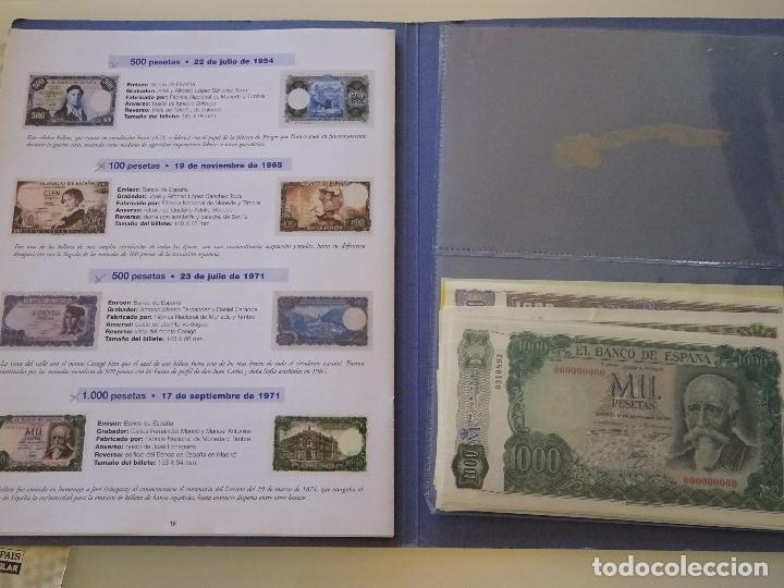 Reproducciones billetes y monedas: COLECCIÓN COMPLETA 80 BILLETES. EL PAPEL DE LA PESETA I Y II. FACSÍMIL. FACSÍMILES FNMT. 400 GR - Foto 2 - 104043743