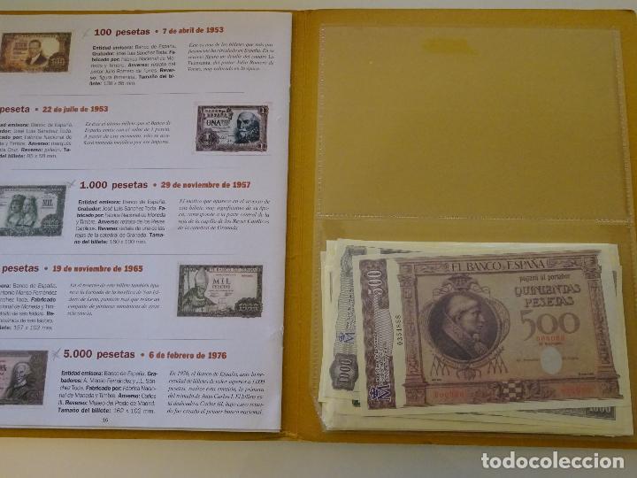 Reproducciones billetes y monedas: COLECCIÓN COMPLETA 80 BILLETES. EL PAPEL DE LA PESETA I Y II. FACSÍMIL. FACSÍMILES FNMT. 400 GR - Foto 4 - 104043743