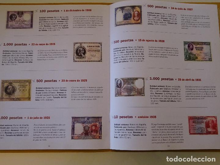 Reproducciones billetes y monedas: COLECCIÓN COMPLETA 80 BILLETES. EL PAPEL DE LA PESETA I Y II. FACSÍMIL. FACSÍMILES FNMT. 400 GR - Foto 5 - 104043743