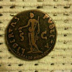 Reproducciones billetes y monedas: REPRODUCCIÓN MONEDA ROMANA. Lote 104107291