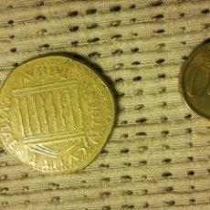 Reproducciones billetes y monedas: REPRODUCCIÓN MONEDA ROMANA. Lote 104107426