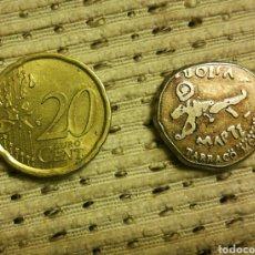 Reproducciones billetes y monedas: REPRODUCCIÓN MONEDA ROMANA. Lote 104107823