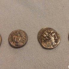 Reproducciones billetes y monedas: REPRODUCCIÓN MONEDAS GRIEGAS ANTIGUAS. Lote 104414142
