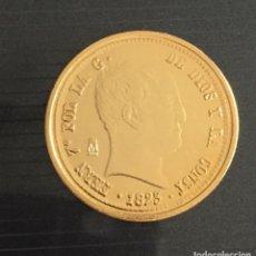 Reproducciones billetes y monedas: 320 REALES FERNANDO VII MADRID RÉPLICA. Lote 105654675