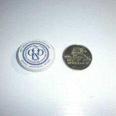 Reproducciones billetes y monedas: MONEDA TEMA ANIMALES. Lote 105760975
