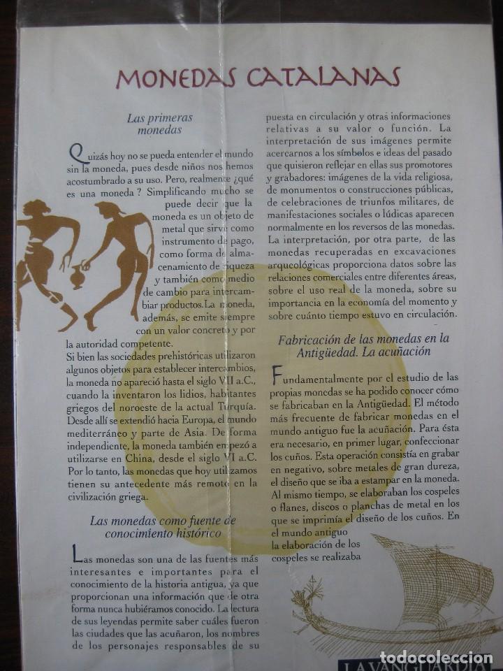 Reproducciones billetes y monedas: Colección de 20 monedas catalanas, bañadas en plata - Foto 7 - 107668459