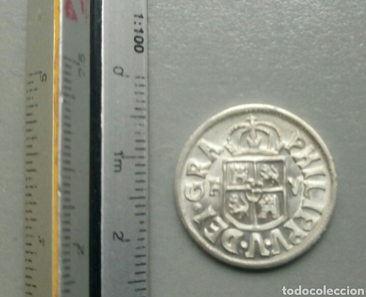 Reproducciones billetes y monedas: Moneda reproducción borbones rex 1711 xhispan plata - Foto 2 - 108242816