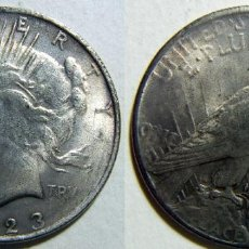 Reproducciones billetes y monedas: REPRODUCCION ESTADOS UNIDOS 1 DOLAR 1923 37 MM. Lote 108273539