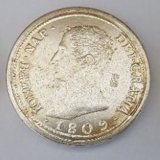 Reproducciones billetes y monedas: 20 PESETAS ALFONSO XIII 1892 - 8 REALES JOSE NAPOLEON 1809 Y 4 EXCELENTES REYES CATOLICOS(LEER DESC). Lote 108707807