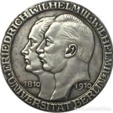 Reproducciones billetes y monedas: ALEMÁN 1910 , 3 MARK MONEDA COPIA. Lote 108754499