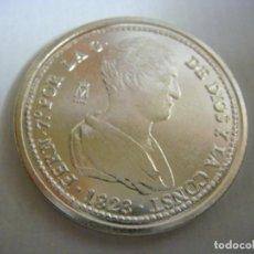 Reproducciones billetes y monedas: MONEDA REPRODUCION FERNANDO VII 4 REALES AÑO 1823 VALENCIA (#). Lote 109190247