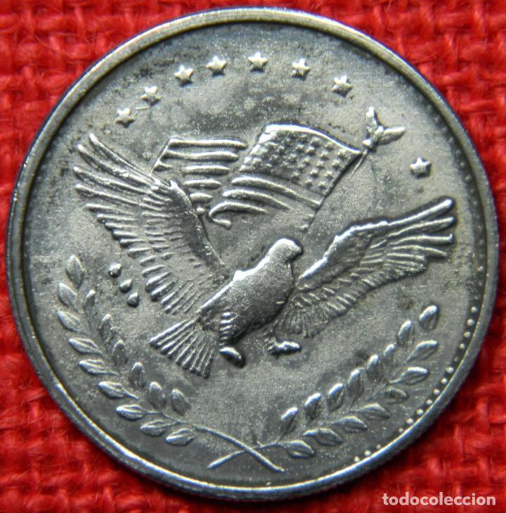 Reproducciones billetes y monedas: Estados Unidos of America - 1 dolar - Liberty - Diametro 38 mm - Foto 2 - 112647575