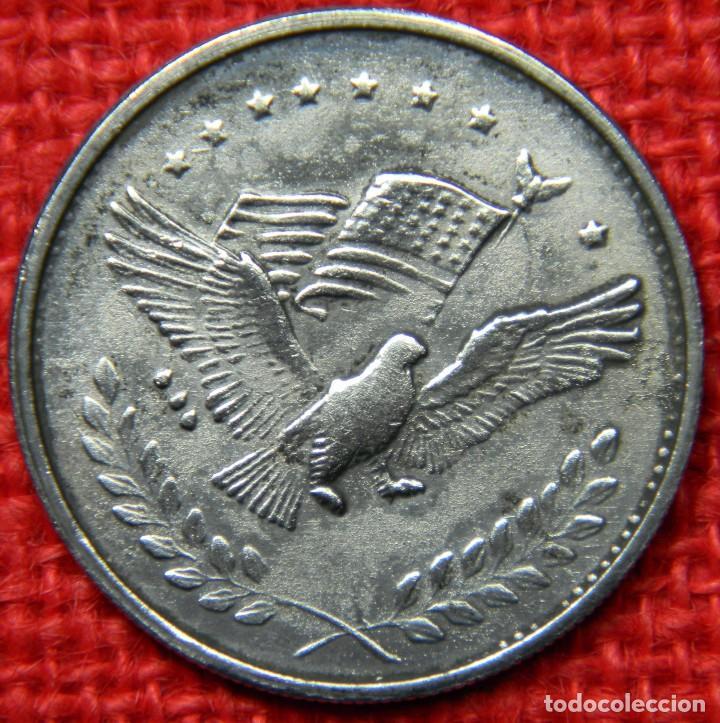 Reproducciones billetes y monedas: Estados Unidos of America - 1 dolar - Liberty - Diametro 38 mm - Foto 4 - 112647575
