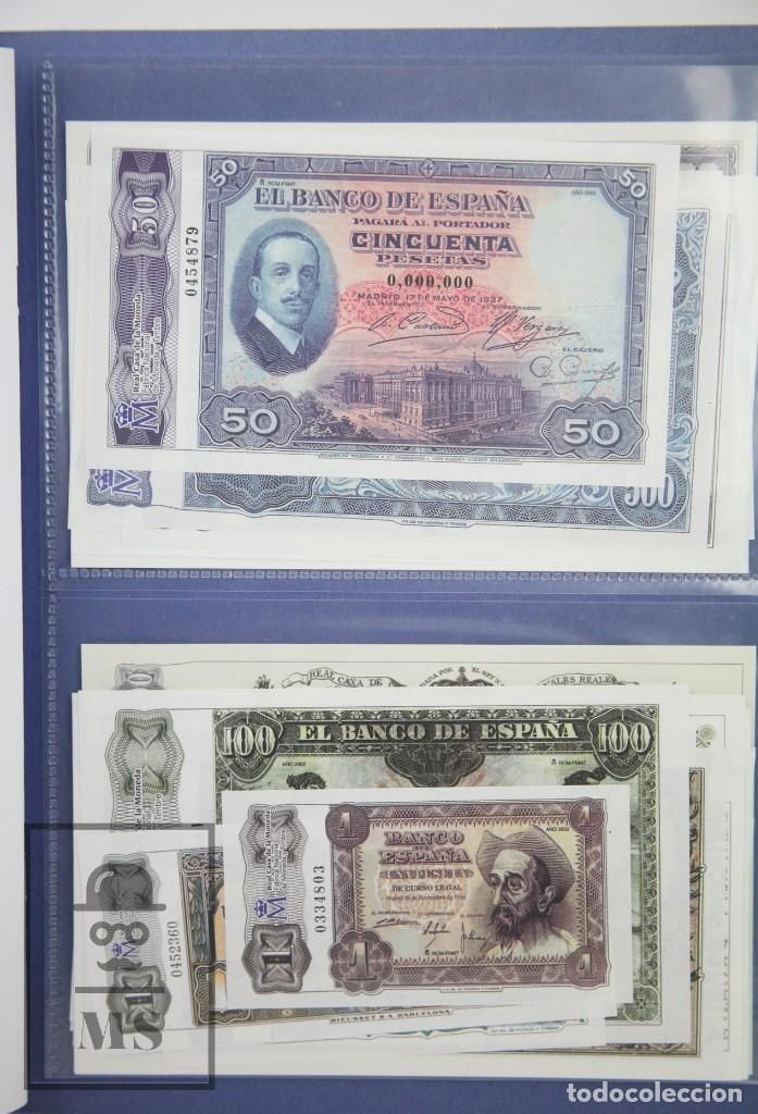 Reproducciones billetes y monedas: Colección 40 Facsímiles de Billetes Españoles - El Papel de la Peseta II - FNMT / El País, 2002 - Foto 5 - 112883035