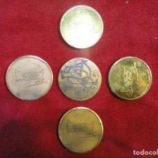 Reproducciones billetes y monedas: MEDALLAS DE DALI. Lote 114303771