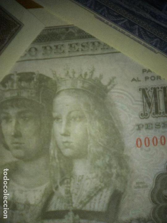 Reproducciones billetes y monedas: EL PAPEL DE LA PESETA UNA SELECCION EXCLUSIVA DE 40 BILLETES HISTORICOS COMPLETA EL PAIS FNMT - Foto 4 - 114529207