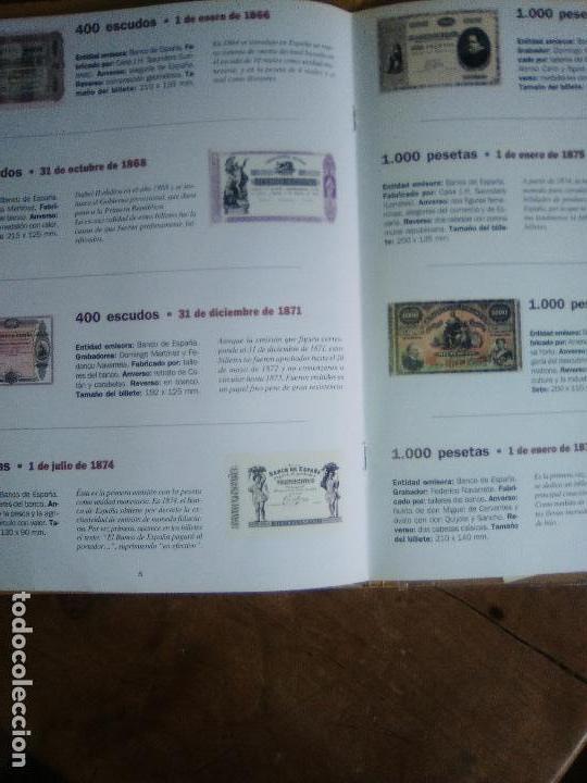 Reproducciones billetes y monedas: EL PAPEL DE LA PESETA UNA SELECCION EXCLUSIVA DE 40 BILLETES HISTORICOS COMPLETA EL PAIS FNMT - Foto 7 - 114529207