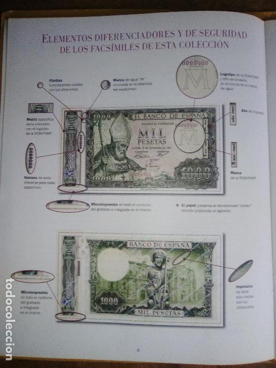 Reproducciones billetes y monedas: EL PAPEL DE LA PESETA UNA SELECCION EXCLUSIVA DE 40 BILLETES HISTORICOS COMPLETA EL PAIS FNMT - Foto 9 - 114529207