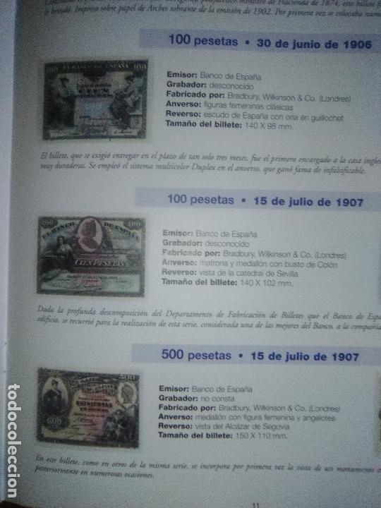Reproducciones billetes y monedas: EL PAPEL DE LA PESETA UNA SELECCION EXCLUSIVA DE 40 BILLETES HISTORICOS COMPLETA EL PAIS FNMT - Foto 5 - 114531515