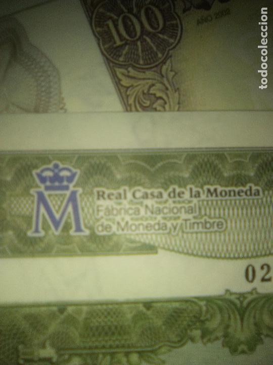 Reproducciones billetes y monedas: EL PAPEL DE LA PESETA UNA SELECCION EXCLUSIVA DE 40 BILLETES HISTORICOS COMPLETA EL PAIS FNMT - Foto 9 - 114531515