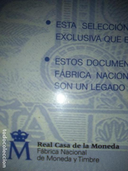 Reproducciones billetes y monedas: EL PAPEL DE LA PESETA UNA SELECCION EXCLUSIVA DE 40 BILLETES HISTORICOS COMPLETA EL PAIS FNMT - Foto 11 - 114531515