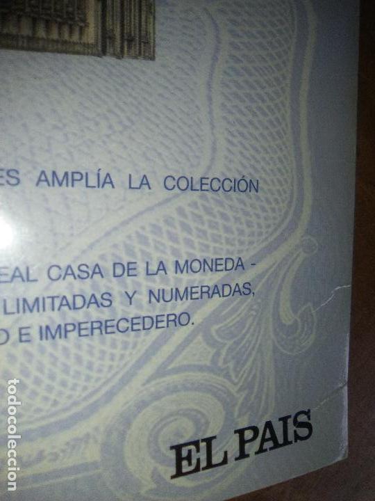 Reproducciones billetes y monedas: EL PAPEL DE LA PESETA UNA SELECCION EXCLUSIVA DE 40 BILLETES HISTORICOS COMPLETA EL PAIS FNMT - Foto 12 - 114531515