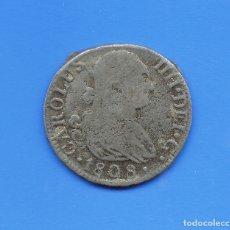 Reproducciones billetes y monedas: MONEDA DE 2 REALES DE CARLOS IIII, 1808. COLECCIÓN ORTIZ, LAS MONEDAS DE LOS BORBONES. M0028.. Lote 114686855