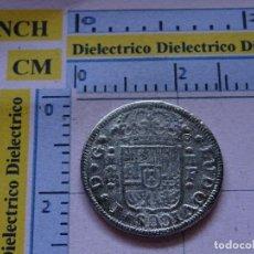 Reproducciones billetes y monedas: REPRODUCCIÓN MONEDA HISTORIA NUMISMÁTICA DE ESPAÑA. 2 REALES DE LUIS I 1724. 57. Lote 210440852