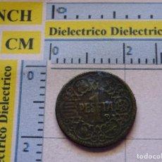 Reproducciones billetes y monedas: REPRODUCCIÓN MONEDA HISTORIA NUMISMÁTICA DE ESPAÑA. 1 PESETA ESTADO ESPAÑOL 1944. 79. Lote 116338083