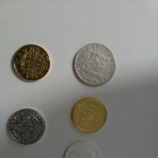 Reproducciones billetes y monedas: LOTE REPRODUCCIONES MONEDAS ANTIGUAS. Lote 116352475