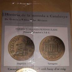Reproducciones billetes y monedas: COLECCIÓN EL PAIS HISTÒRIA DE LA MONEDA A CATALUNYA (CATALUÑA) ENTREGA Nº 3. Lote 117808407