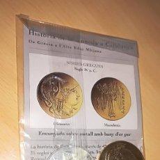 Reproducciones billetes y monedas: COLECCIÓN EL PAIS HISTÒRIA DE LA MONEDA A CATALUNYA (CATALUÑA) ENTREGA Nº 2. Lote 117808663