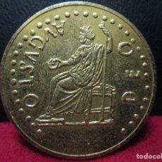 Reproducciones billetes y monedas: DUPONDIO AUGUSTO DEO TARRACO. Lote 118566487