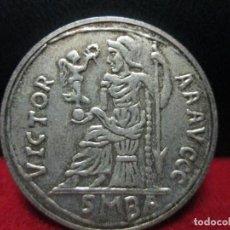 Reproducciones billetes y monedas: MAXIMILIANO MAGNO 25 MM DE DIAMETRO REPRODUCCION. Lote 119422583